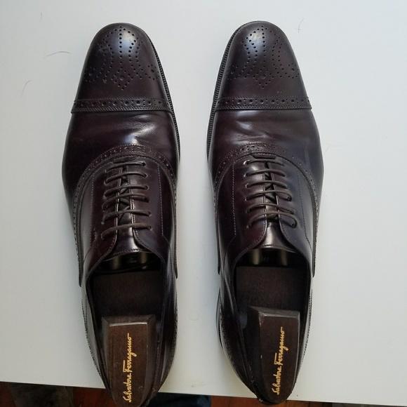 Mens Ferragamo Dress Shoes